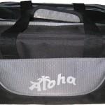 Aloha Double tote grey